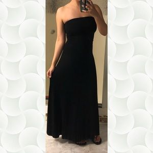 5/$50   GAP Black Maxi Skirt/Dress